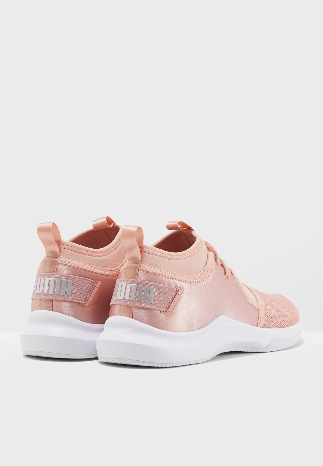 Shop PUMA pink En Pointe Phenom Low Satin 19096902 for Women in UAE ... 3a1b28666