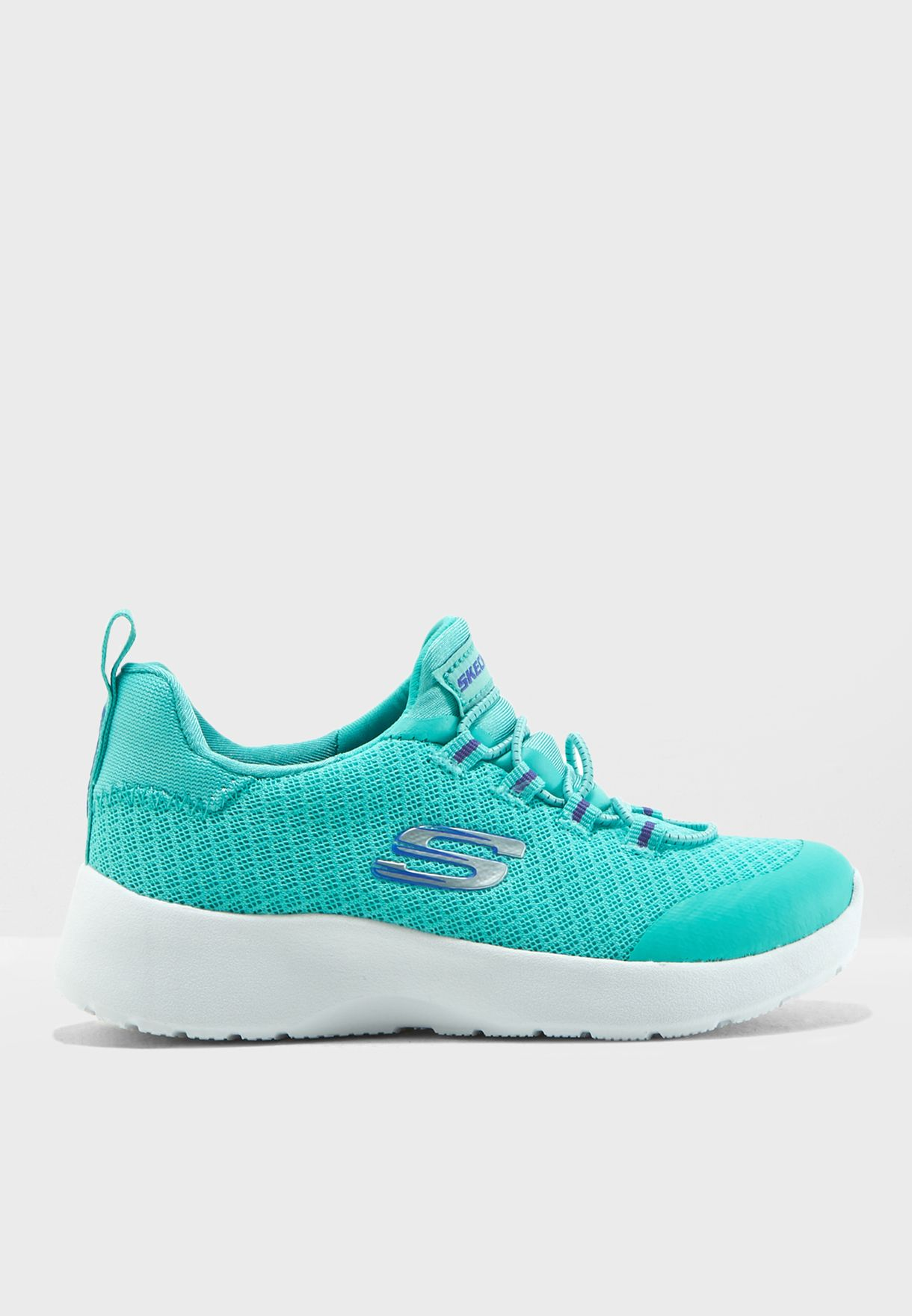 92e6512bc94d Shop Skechers blue-green Dynamight Kids 81018L-TURQ for Kids in UAE ...