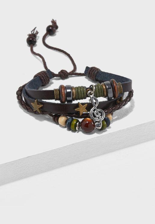 Music Beaded Bracelet