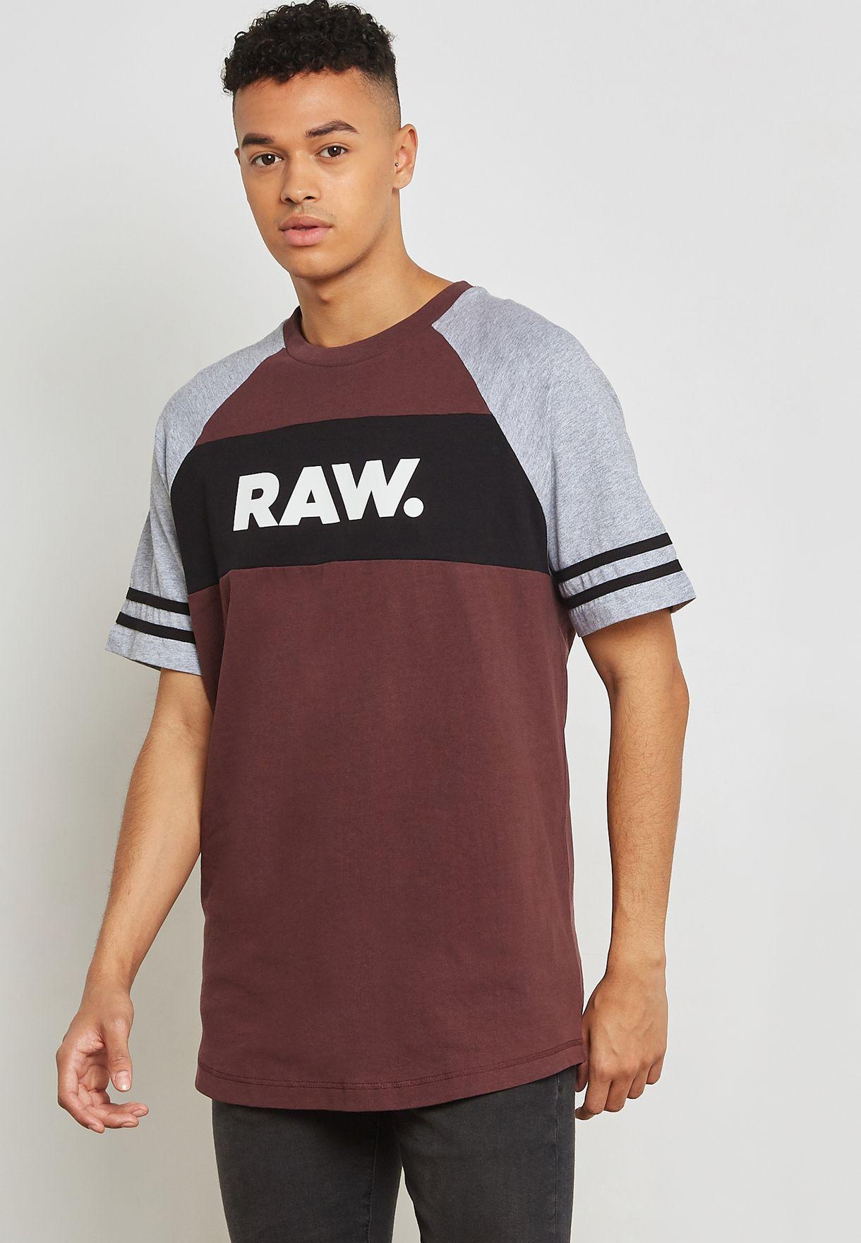 Beatal Loose Raglan Crew Neck T-Shirt