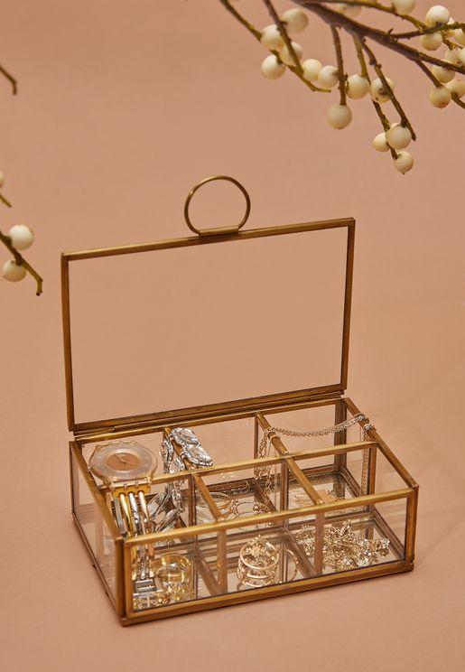 6 Compartment Jewellery Box