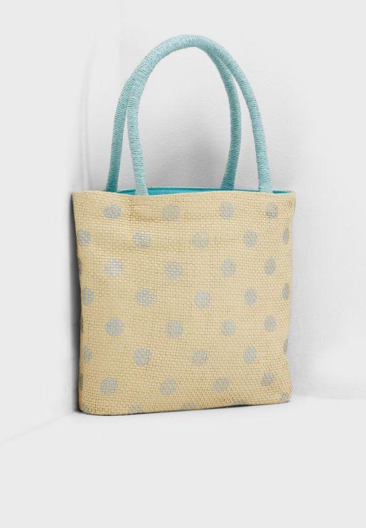Kids Straw Bag