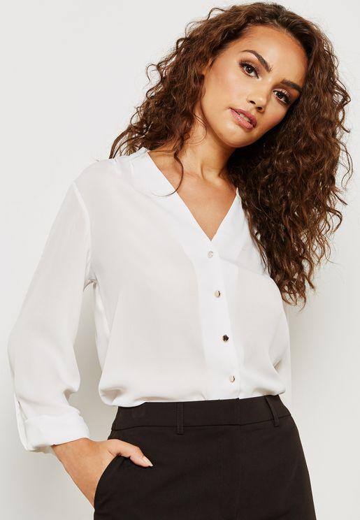 Roll Sleeve Shirt