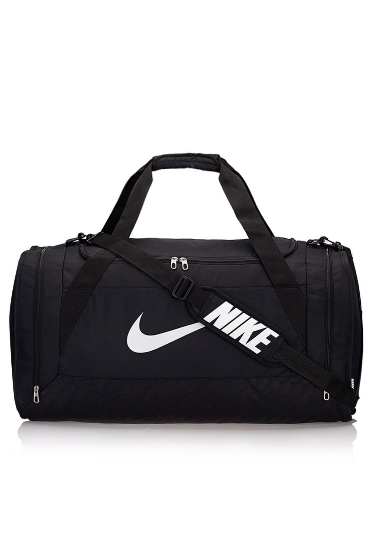 4df26ab373 Shop Nike black Large Brasilia 6 Duffel Bag NEQP-BA4828-001 for Men in  Qatar - NI727AC98QWJ