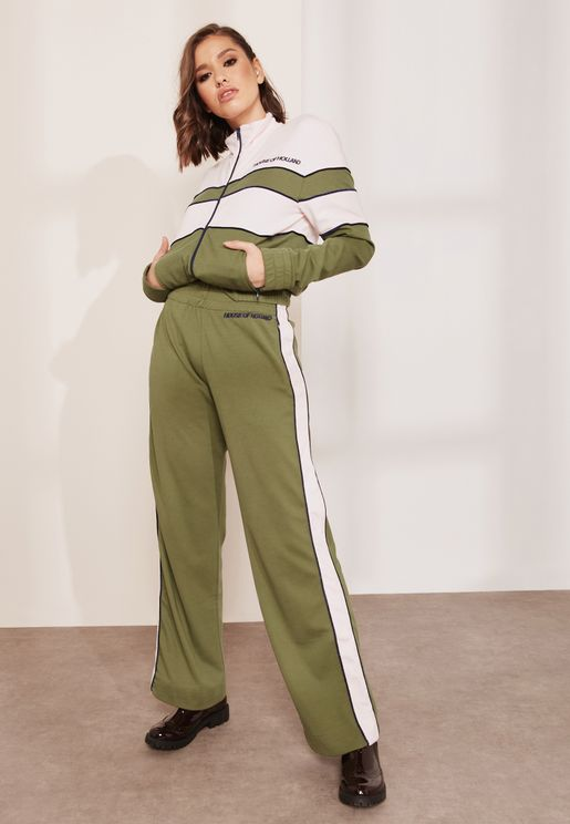 Side Striped Track Pants