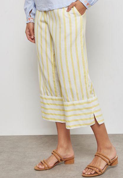 Striped Wide Leg Pants