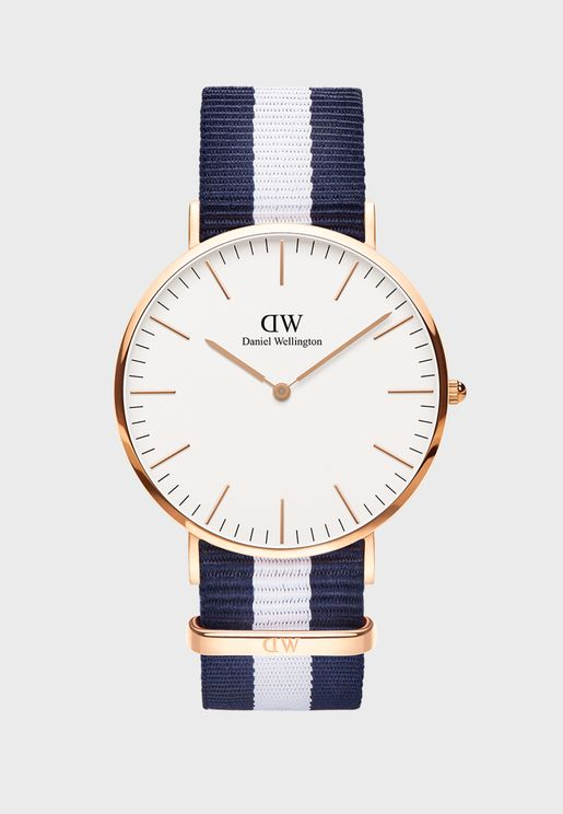 Glasgow Classic Watch 40mm  Rose Gold