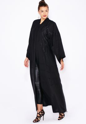 Haya's Closet Embroidered Abaya