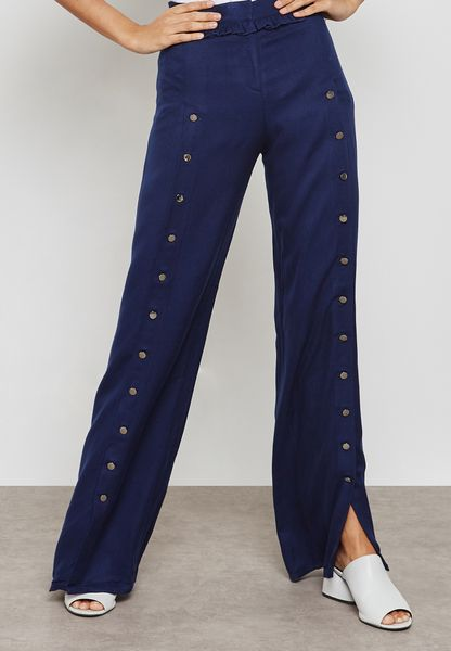 Slit Detail Pants
