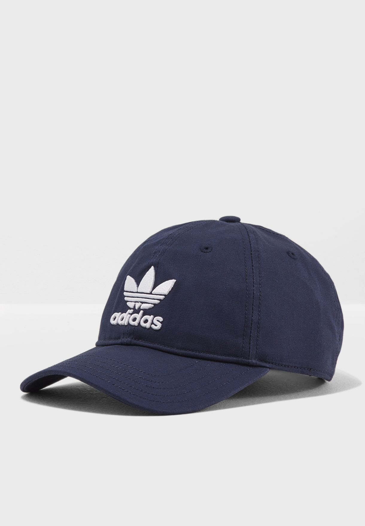 Shop adidas Originals navy Trefoil Cap CD6973 for Men in UAE ... 305ade074c3
