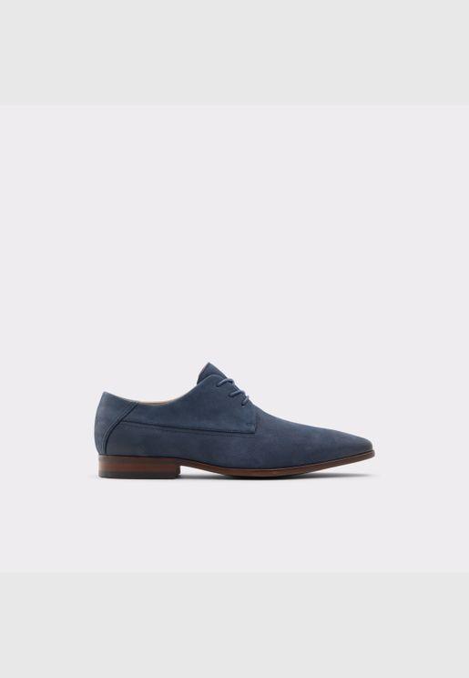 ALDO HOOGEFLEX Men Genuine Leather Shoes Flat Heel Euro 46 Blue