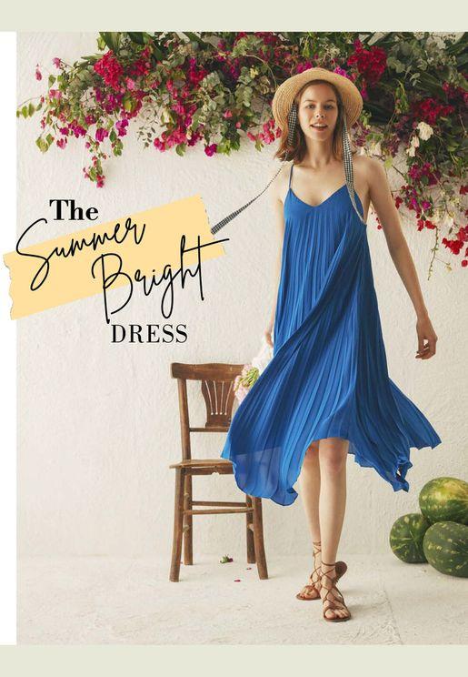 The Summer Bright Dress