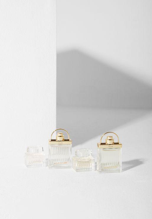 4 Pack Mini Parfum De Roses