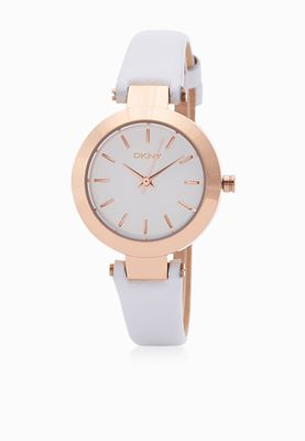 DKNY Stanhope White Dial Watch