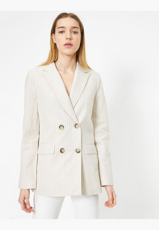 Pocket and Button Detailed Suitjacket