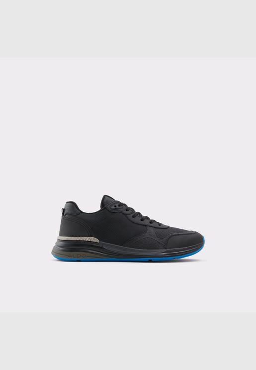 ALDO CERVAES Men Synthetic Leather Shoes Flat Heel Euro 46 Black