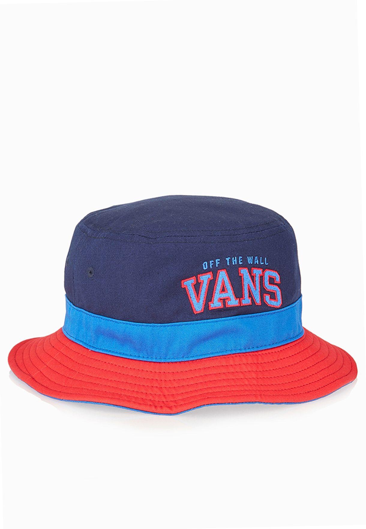 3a80d61db71 Shop Vans red Undertone Bucket Hat VAAC-0YMFVW for Men in Oman -  VA088AC88LIL