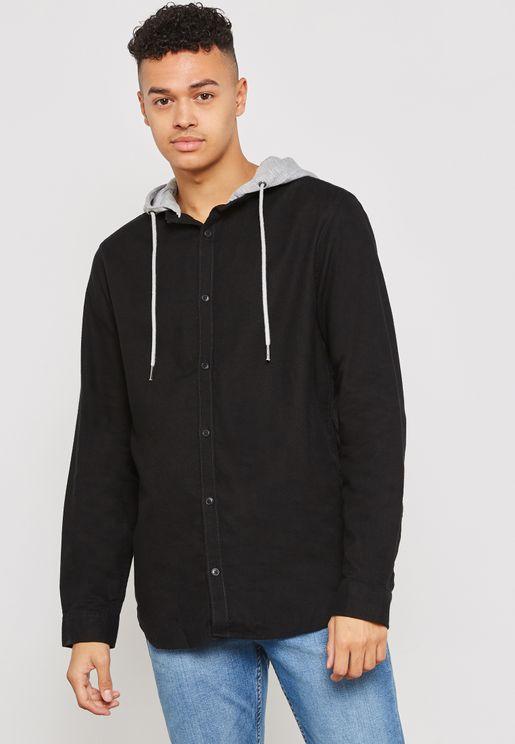 Avenue Hooded Shirt