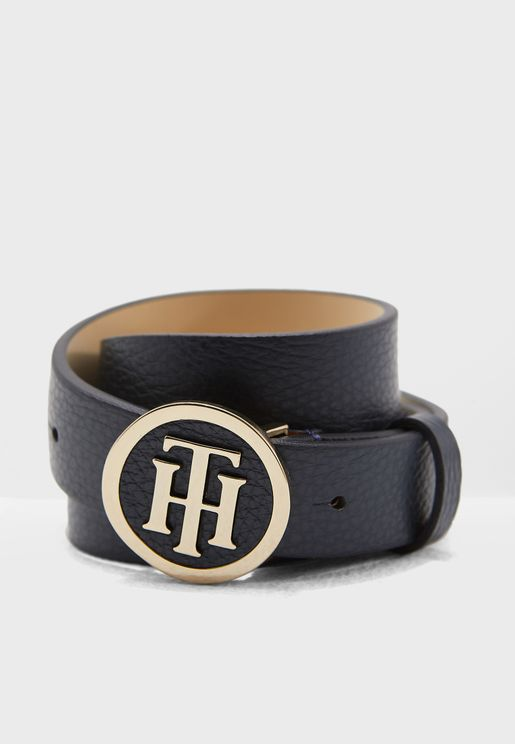3.0  Round Logo Buckle  Belt