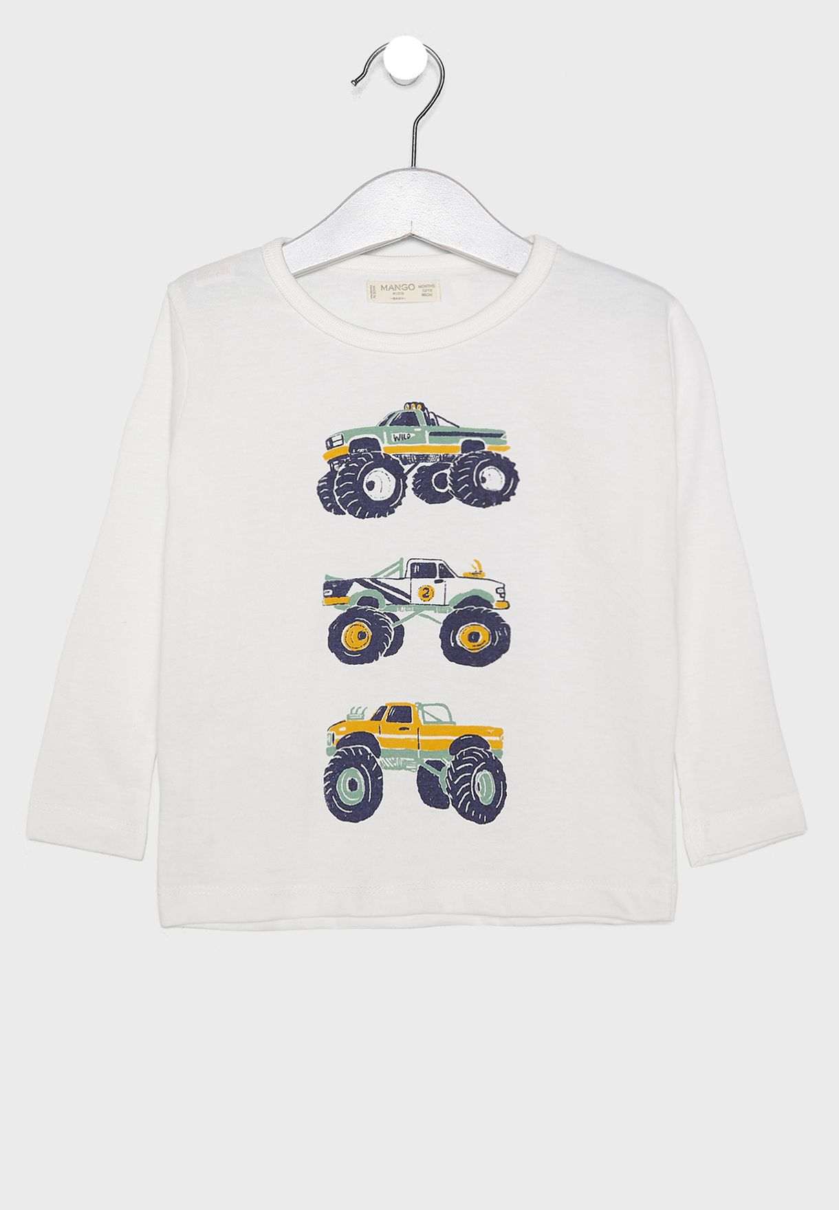Infant Vehicle Graphic T-Shirt
