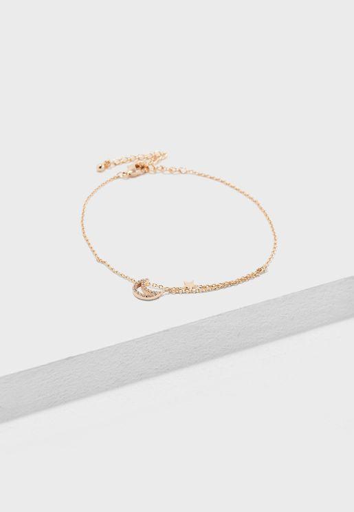 Star and Moon Bracelet