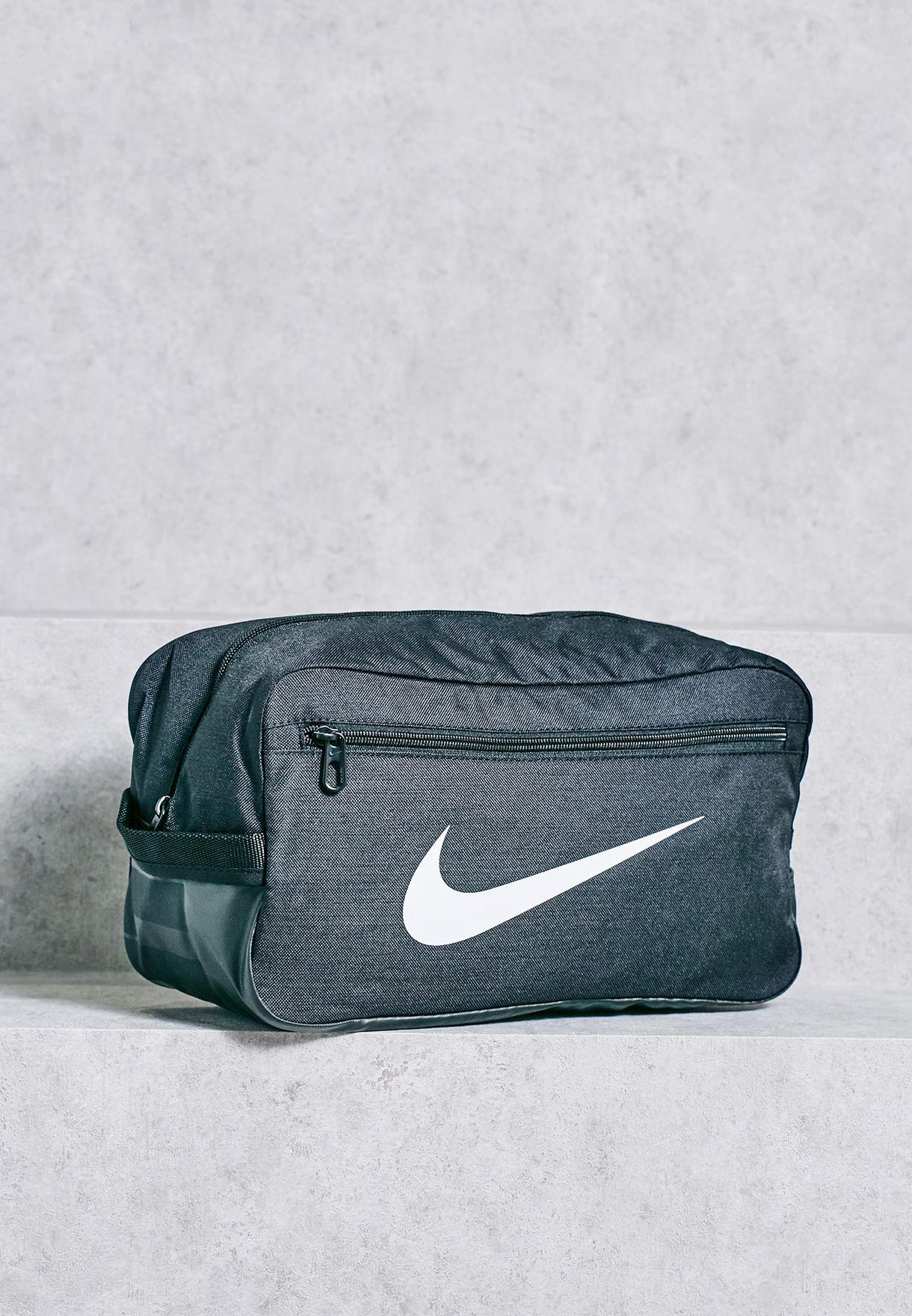 c5a77fd67bb9 Shop Nike black Brasilia Shoe Bag BA5339-010 for Men in UAE ...