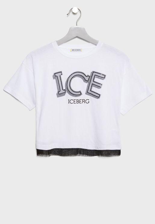 Little Ice Print T-Shirt