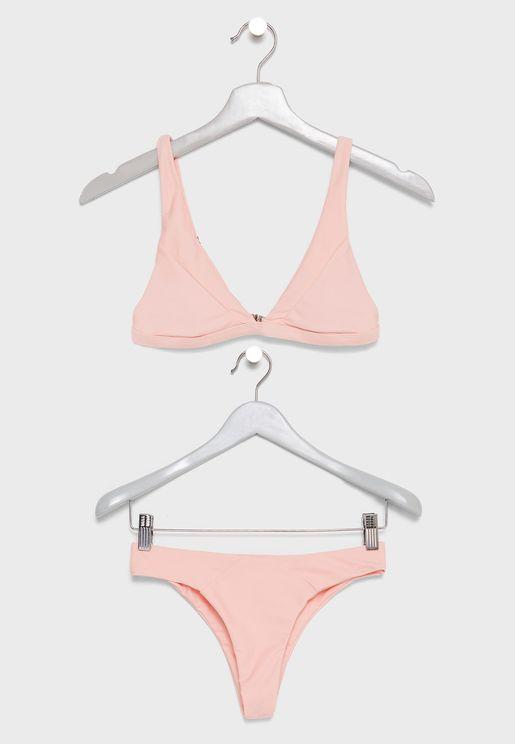 Plunge Bikini Set