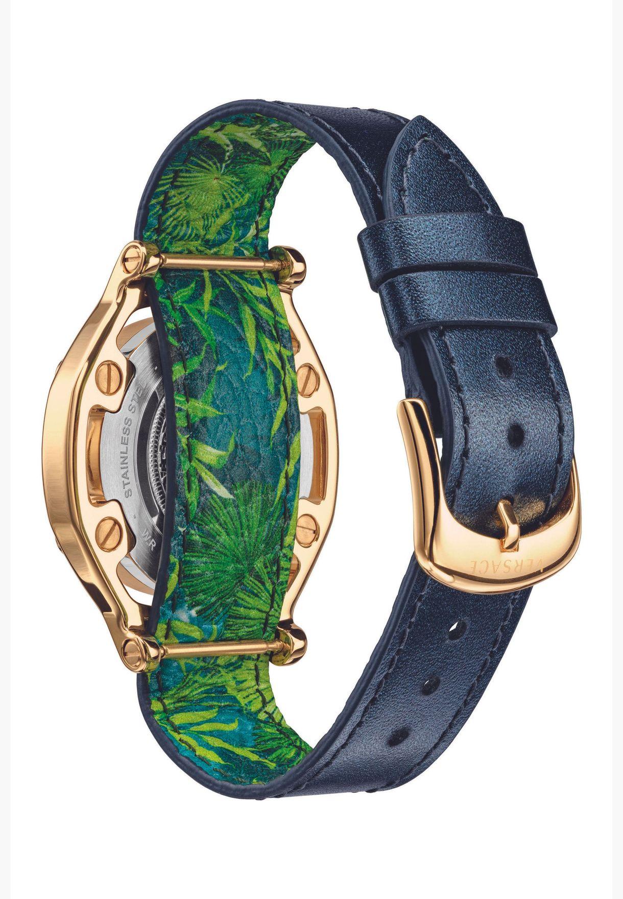 Versace MEDUSA FRAME leather Watch for Women - VEVF00820