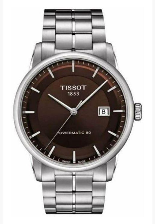 ساعة تيسو الفاخرة بسوار من الفولاذ - T086.407.11.291.00