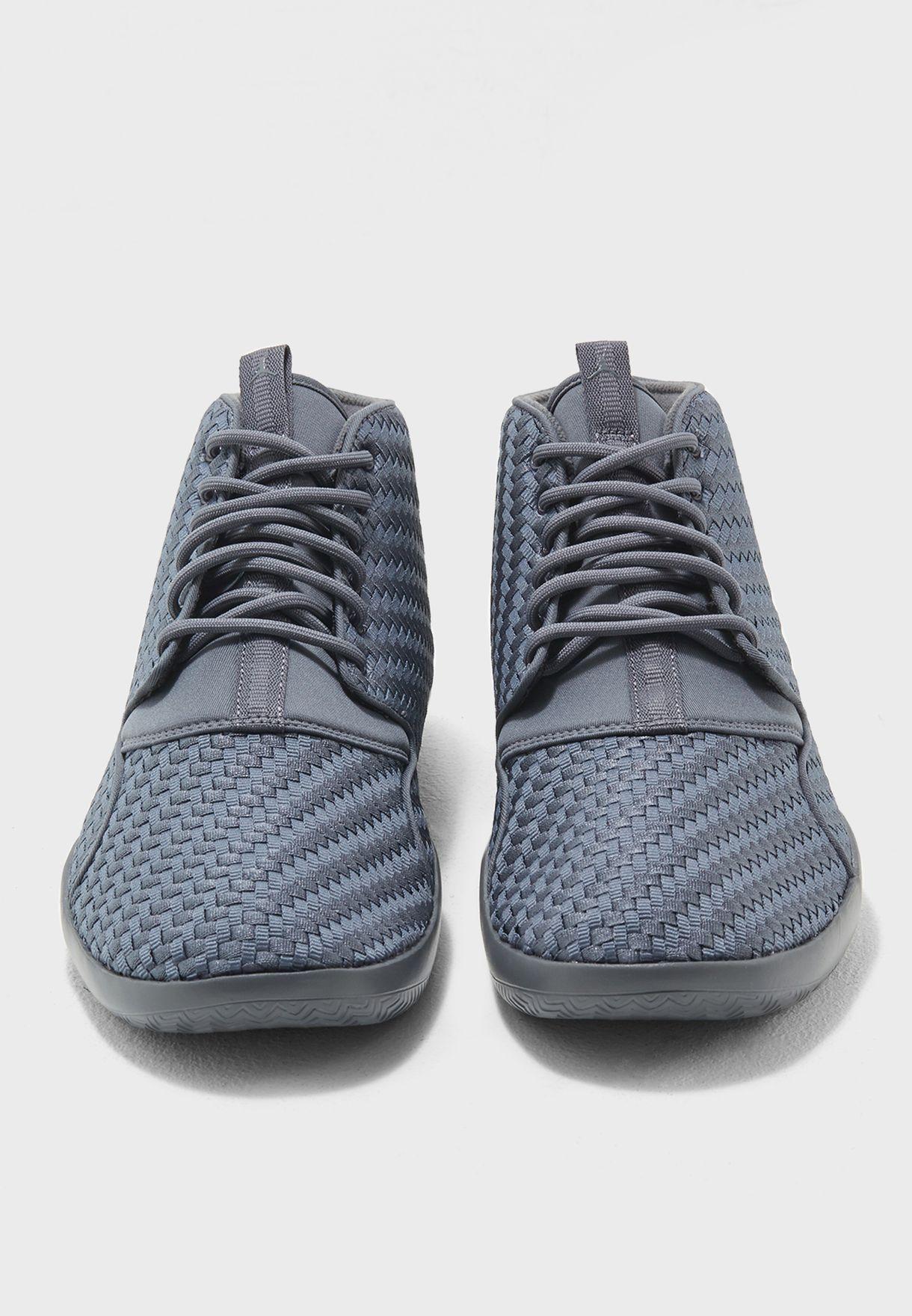 Shop Nike grey Jordan Eclipse Chukka Woven AA3996-003 for Men in UAE ... e2dd2c9d6