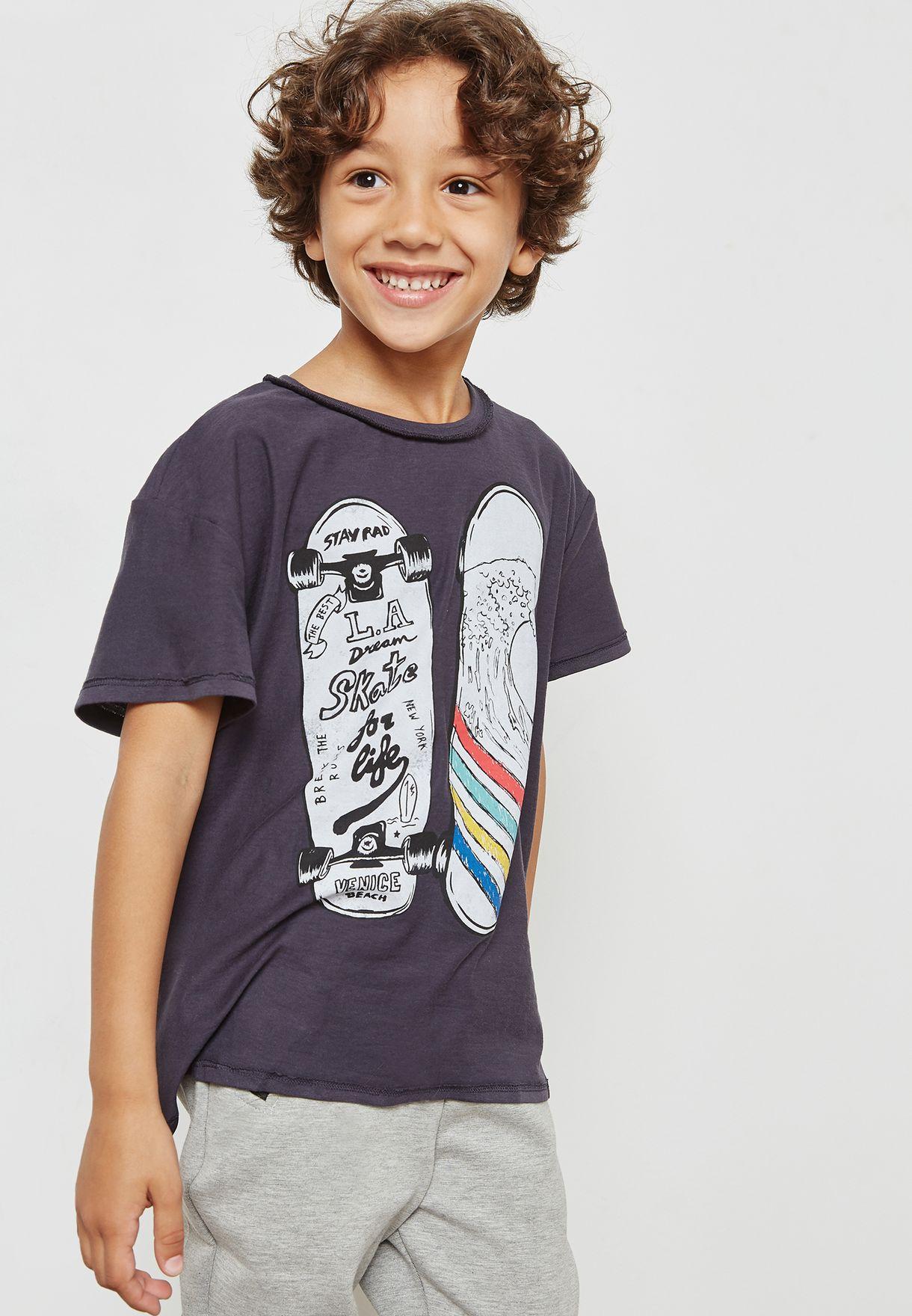 3981ffa5a5 Little Skateboard T-Shirt