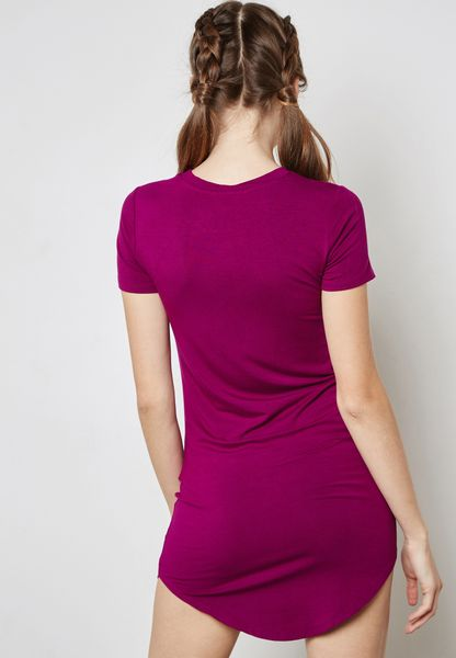 Forever 21. Mini T-Shirt Dress