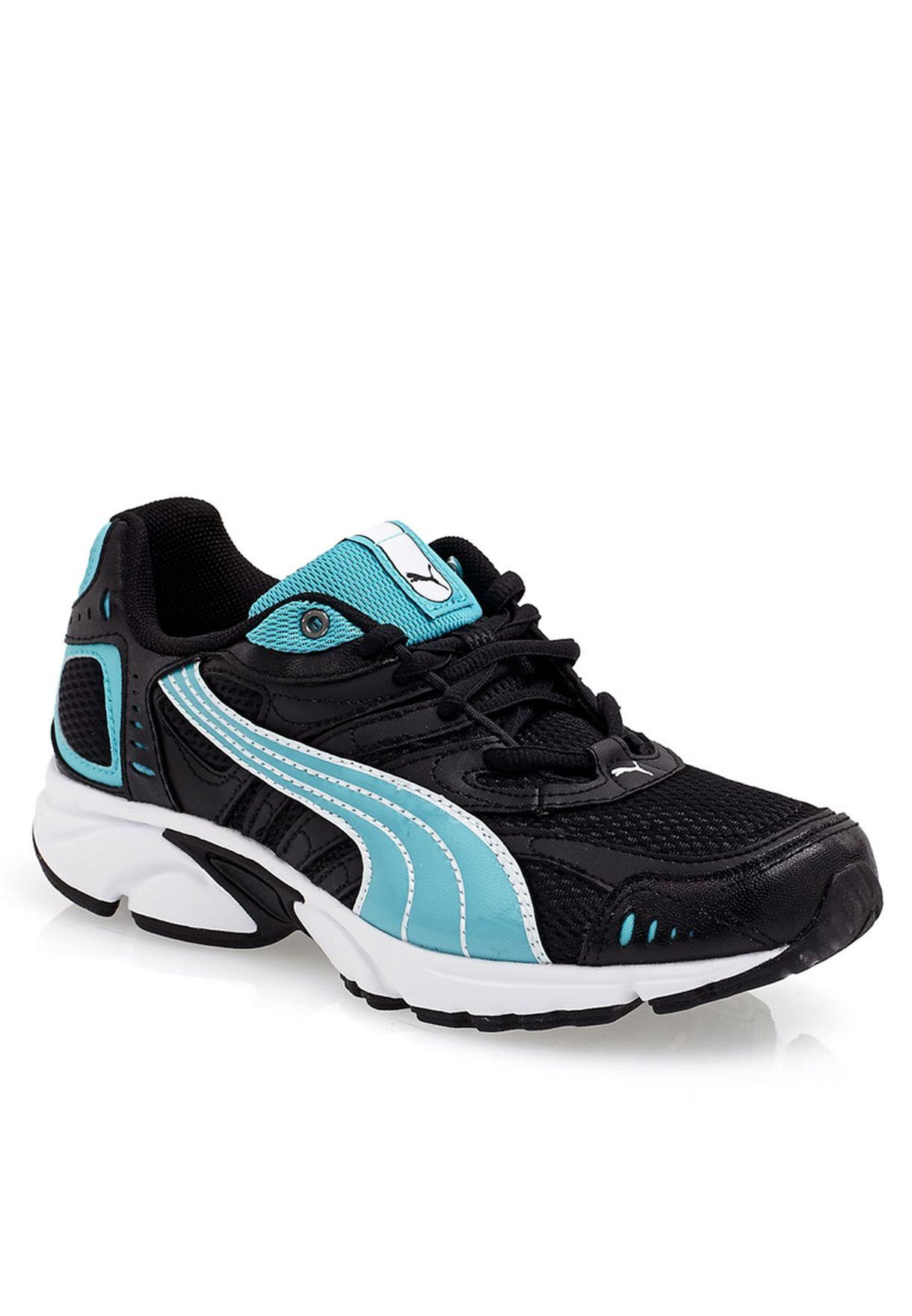 2956bc8ede92 many fashionable cae3d 6b6ec puma black and blue sports shoes ...