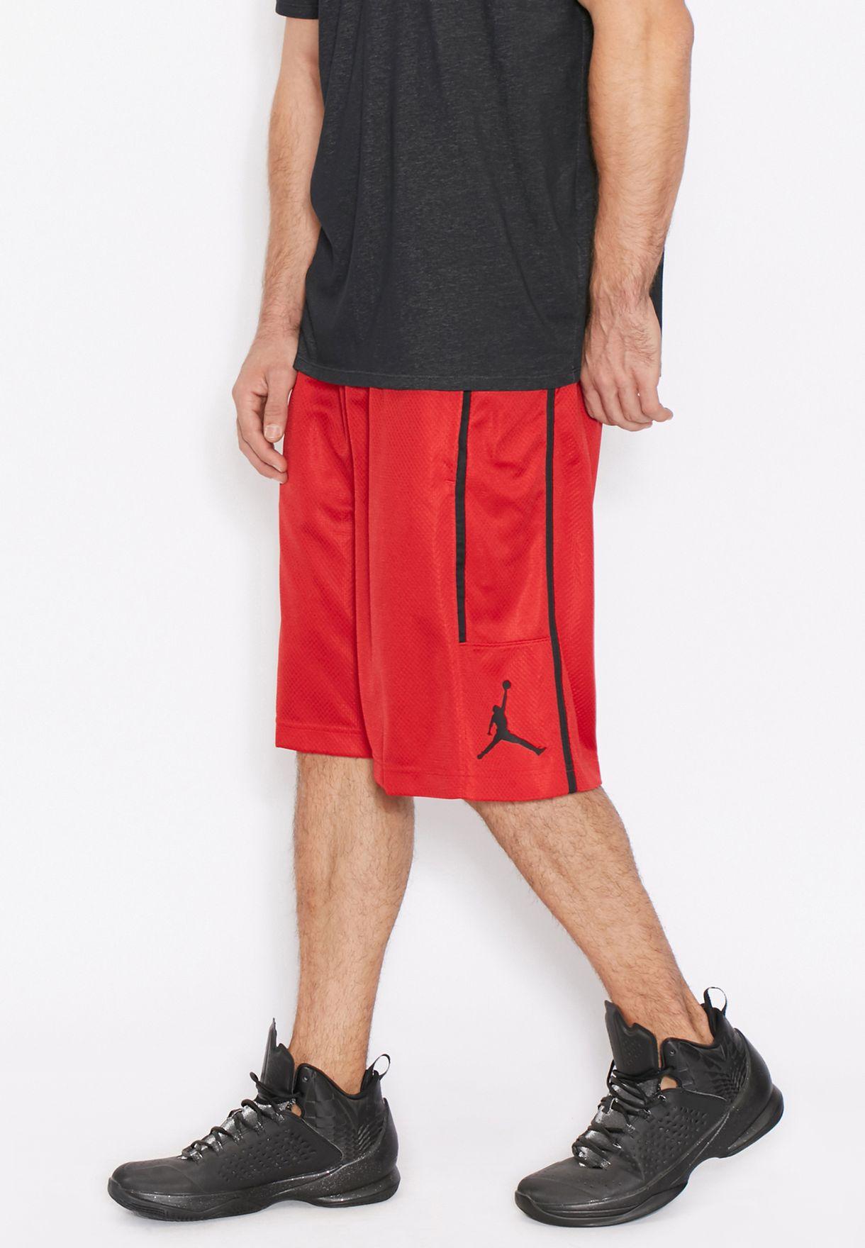 d4bb47c1d9a Shop Nike red Jordan Crossover Shorts 811466-687 for Men in Bahrain ...