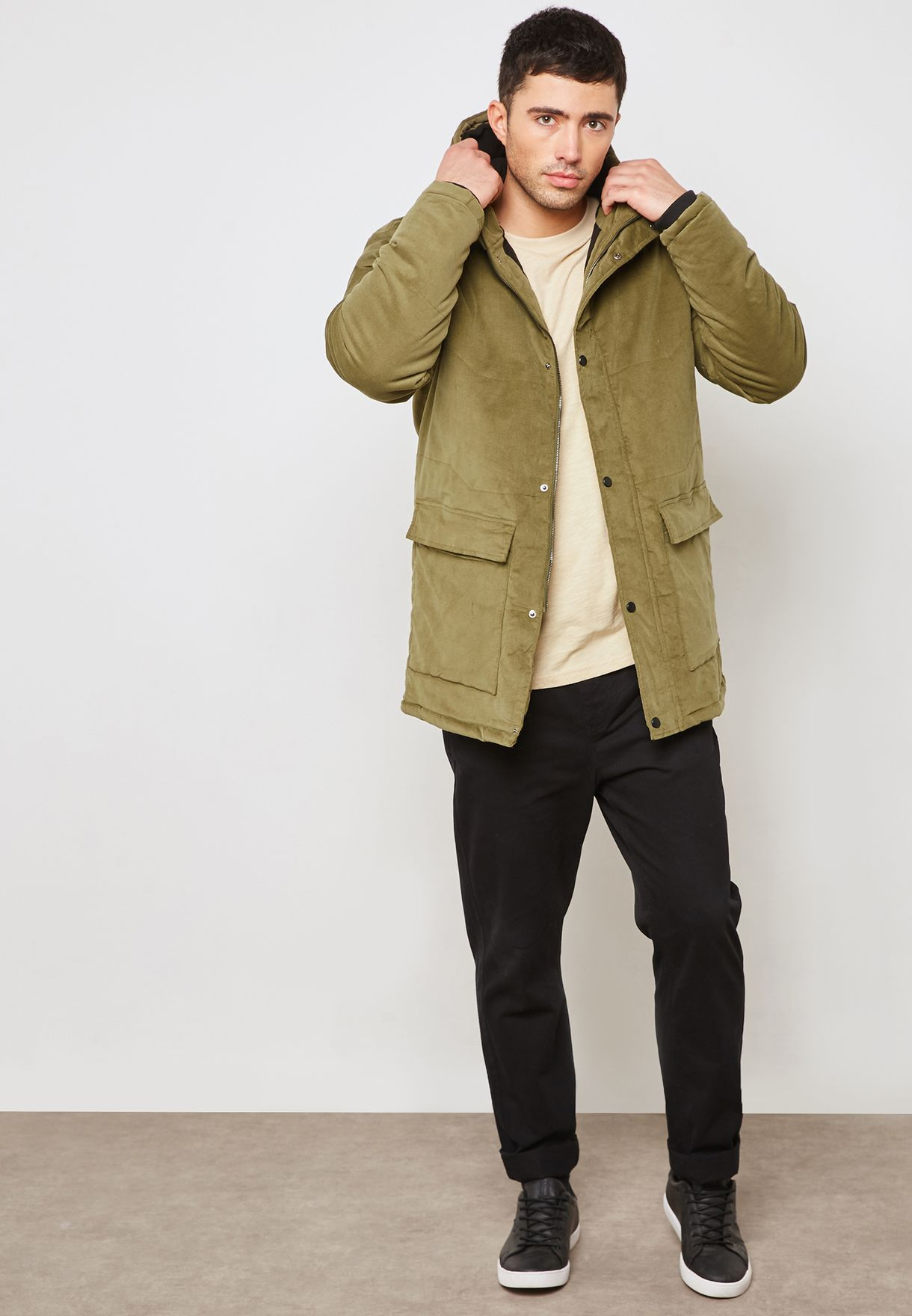 Andy Hooded Jacket