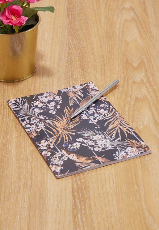Oriental Palms A5 Notebook