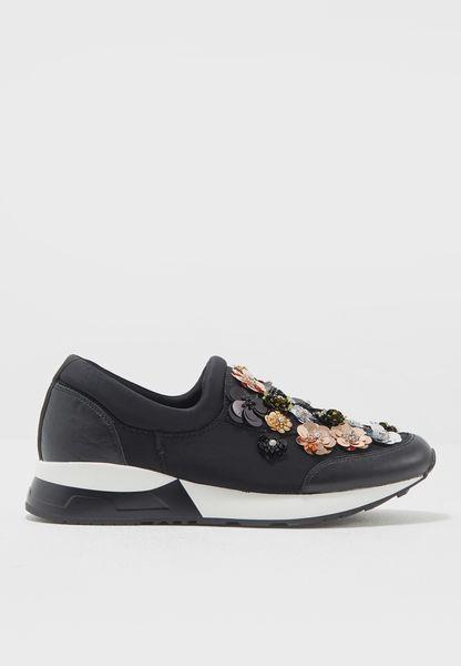 Floral Detail Sneakers