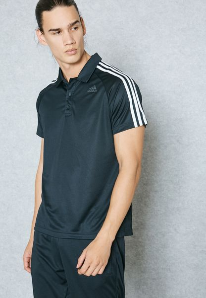 D2M 3 Stripe Polo