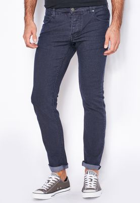 !Solid Dexter Stretch Skinny Fit Dark Wash Jeans