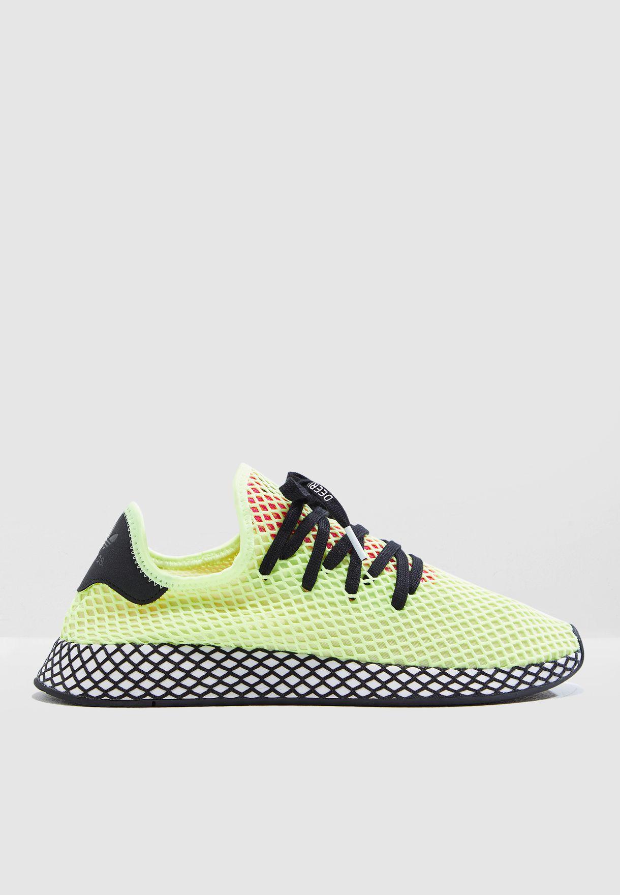 pretty nice 7744f a8586 Shop adidas Originals green Deerupt Runner CG5943 for Men in Oman -  AD478SH88KNN