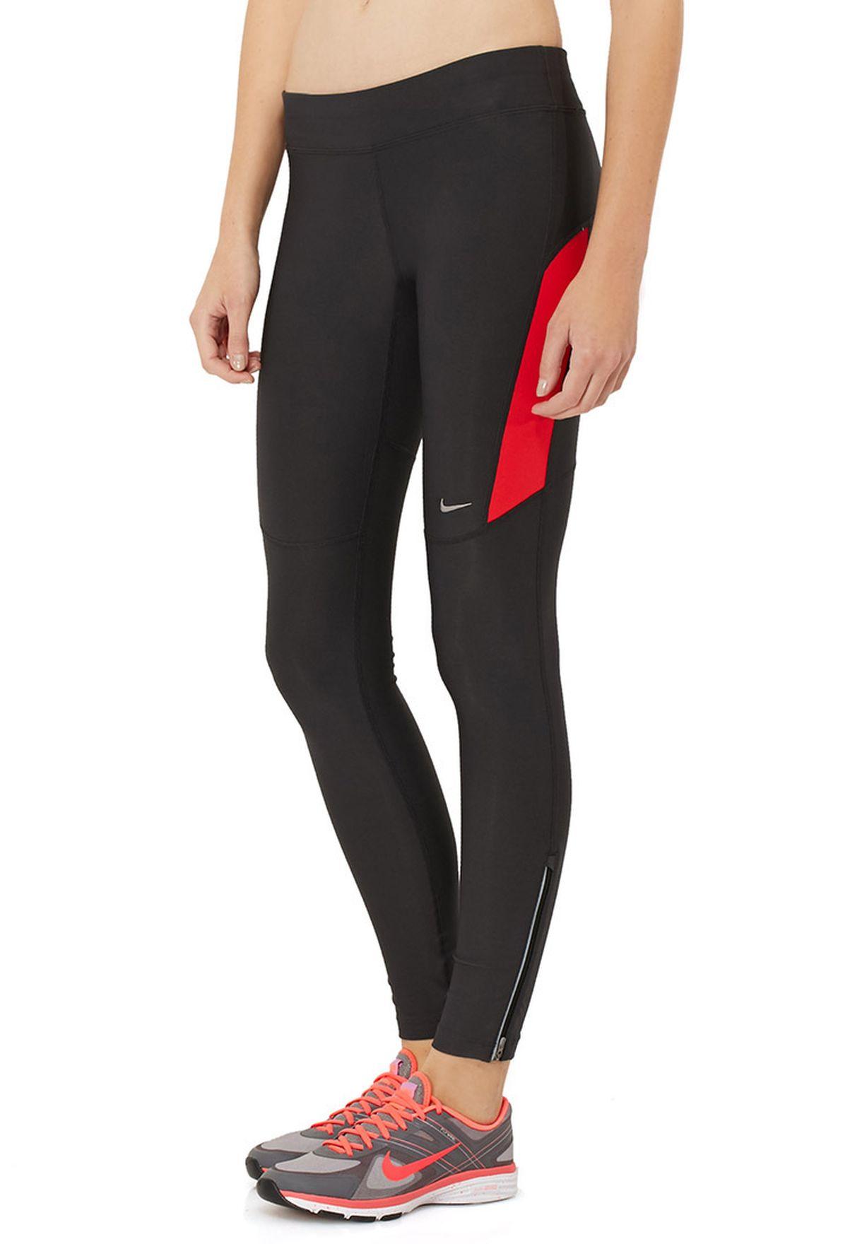 fdc63afa77ed Shop Nike black Filament Tights 519843-259 for Women in Qatar ...