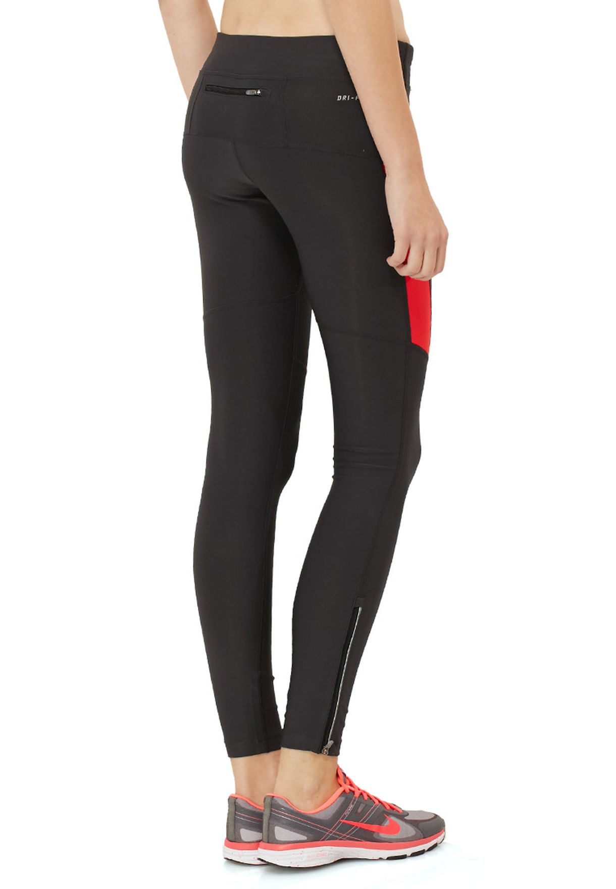 c19b01192441 Shop Nike black Filament Tights 519843-259 for Women in Kuwait ...