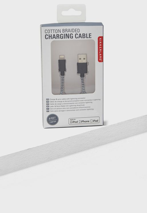 Braided iPhone Lightning Cable