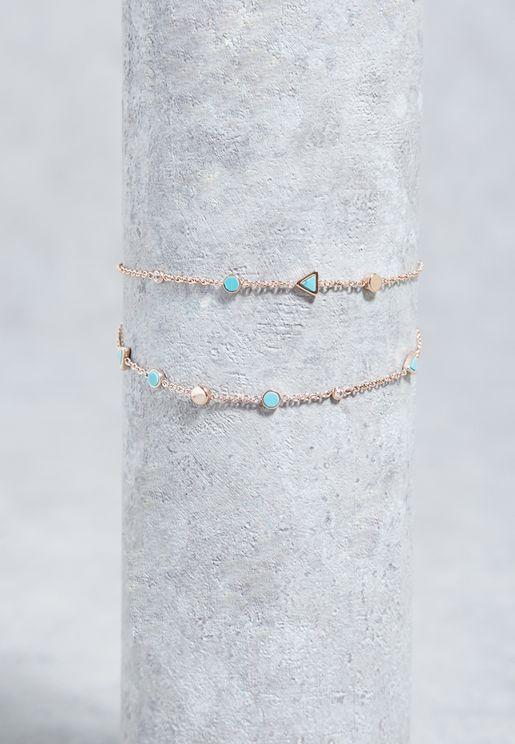 Stone Detail Bracelet