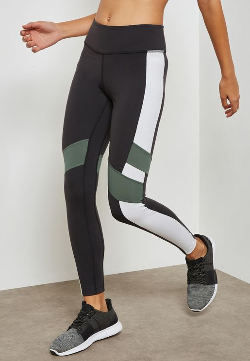 Lux Colour Block Leggings