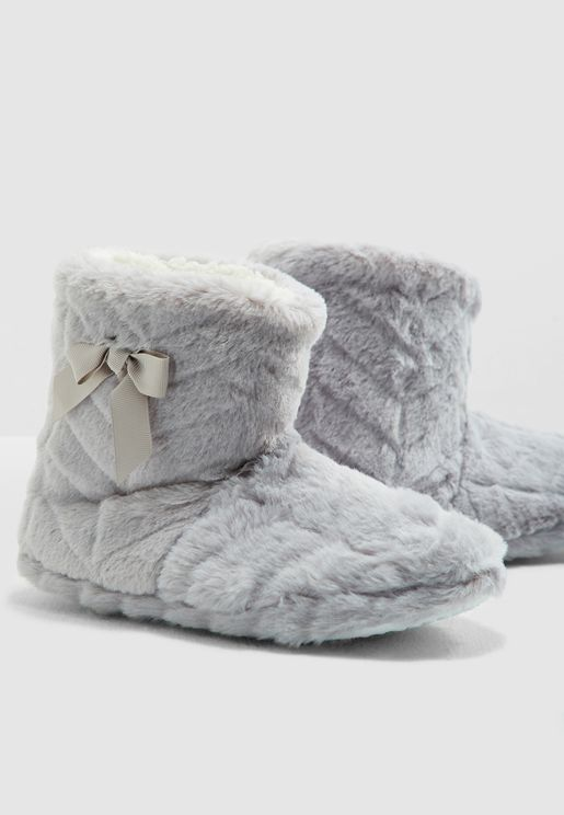 Clip Fur Bootie