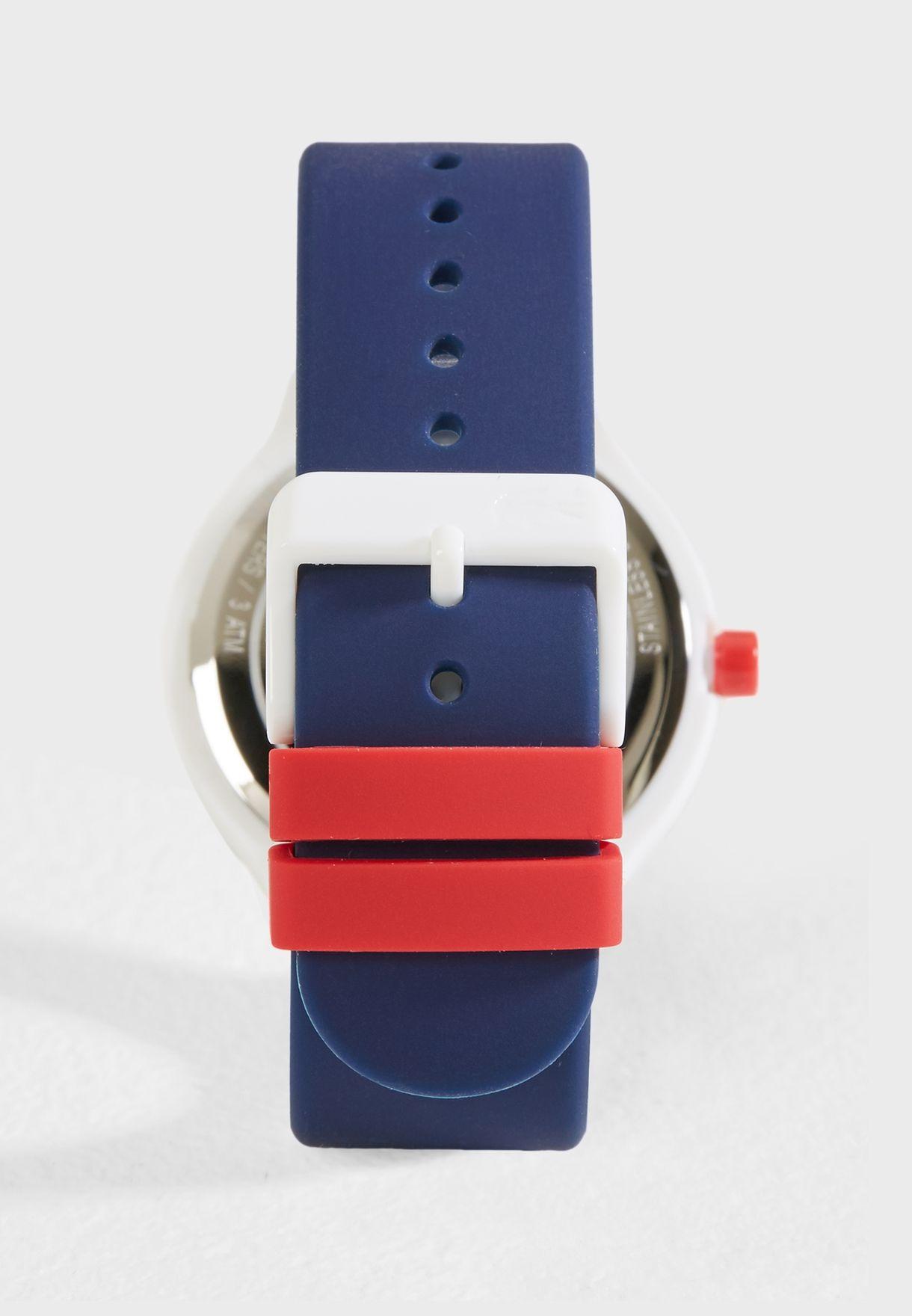 Goa Silicone Strap Analog Watch
