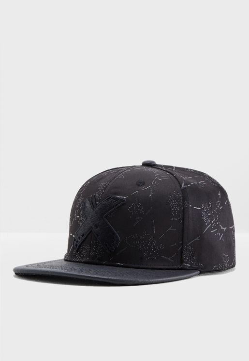 Black Rose Detail Cap