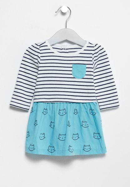 Infant Stripped Dress
